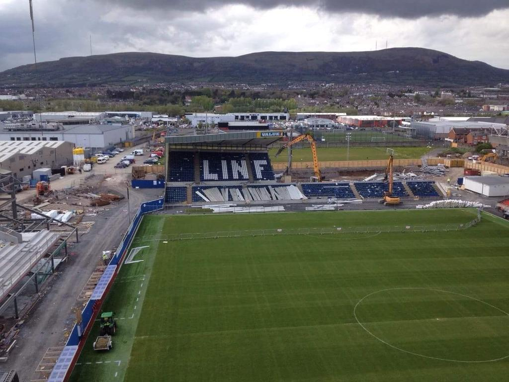 Windsor Park work well underway